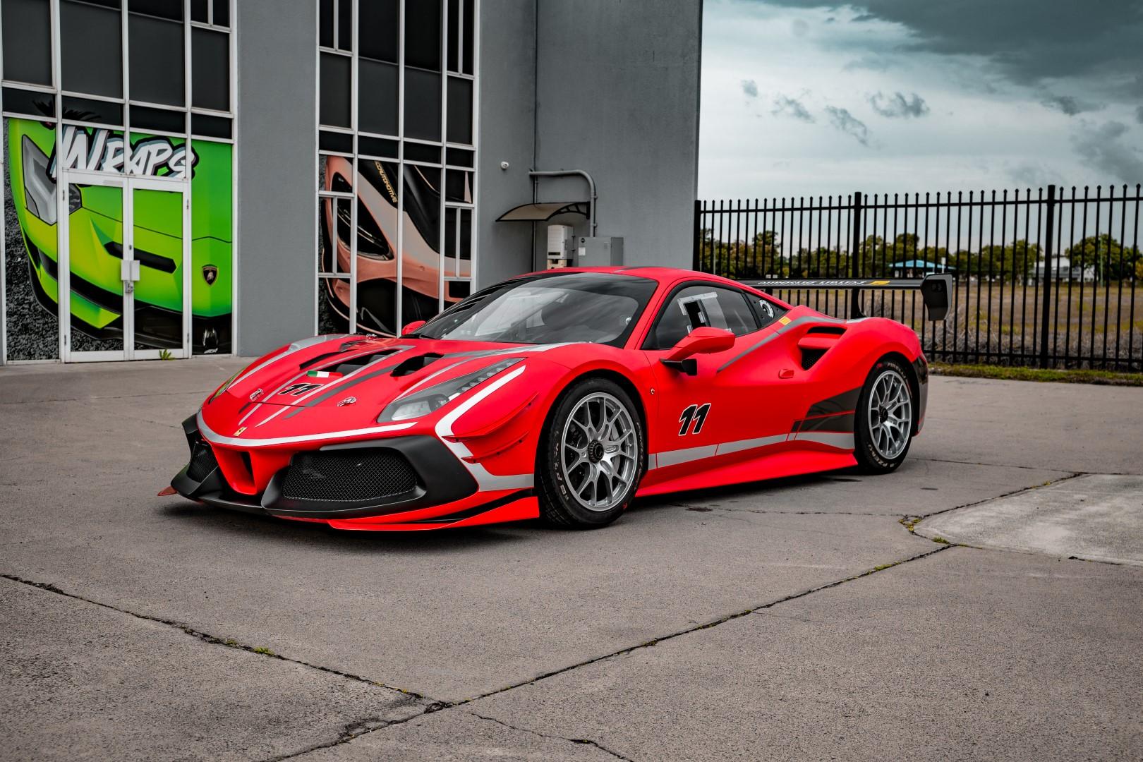 Ferrari Race Car!